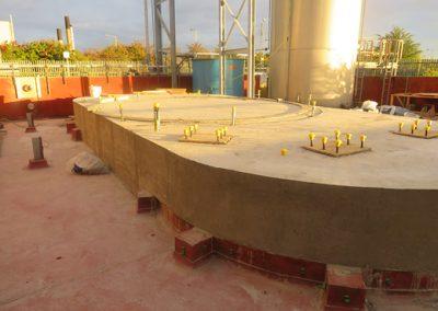 BASF Tank Plinths