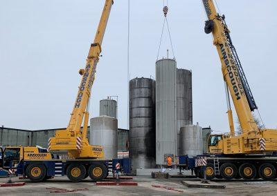 Halewood International Distillery & Distributor, New Tank Farm & HGV Ramp
